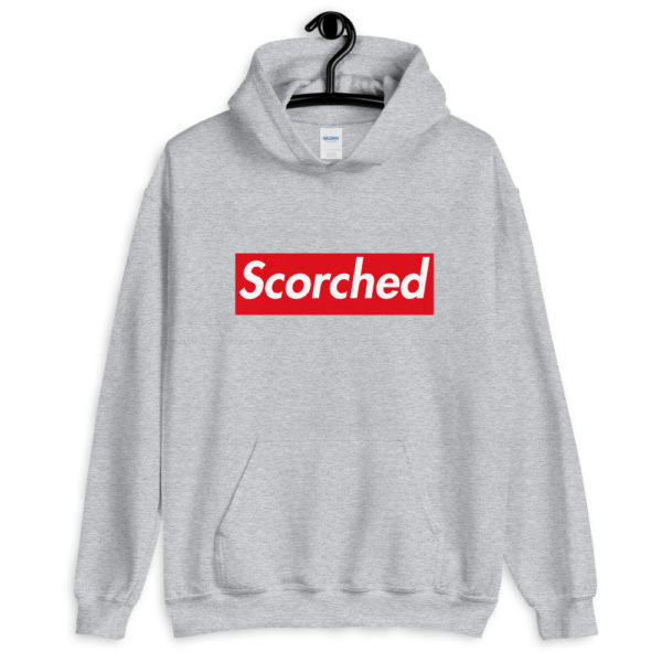 Scorched Hoodie Design