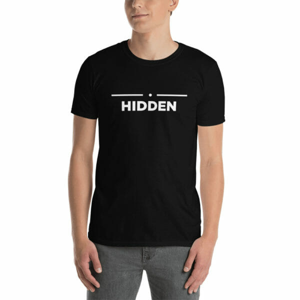 Hidden Skyrim Inspired Unisex T-Shirt
